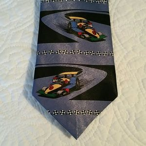 Disney Mickey Mouse Race Car Tie